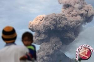 debu vulkanik meluas ke Aceh Utara dan Timur