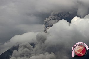 MT Sinabung volcanic ashes spread to Aceh