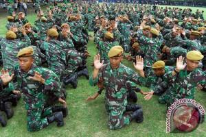 Tari Saman Massal TNI