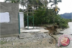 Erosi sungai di Aceh Selatan semakin parah