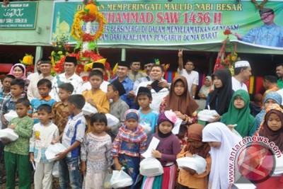 """Udeep Sareeh"" Simeulue Santuni 200 Anak Yatim"