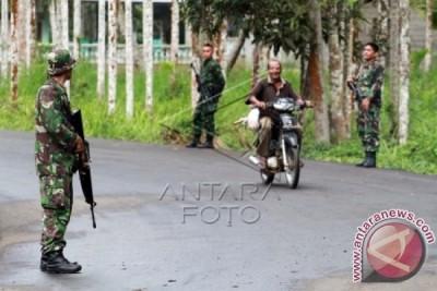 TNI Tarik Personil di Nisam Aceh Utara