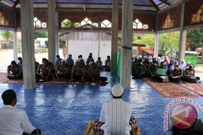 40 Polisi Masuk Pesantren di Aceh Barat
