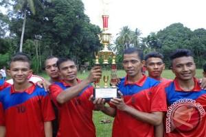 Turnamen Sepakbola Antar Dusun di Ie Lhob Ditutup