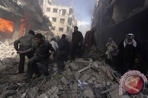 Delapan orang tewas dalam serangan mortil di Suriah