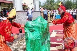 Tarian Giok Meriahkan Hardiknas di Nagan Raya
