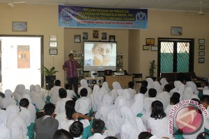 BNNK Lhokseumawe sosialisasi bahaya narkoba kepada murid