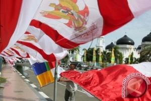 Pedagang atribut HUT Kemerdekaan marak di Lhokseumawe