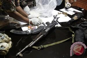 Polisi amankan senjata api dari pengedar narkoba