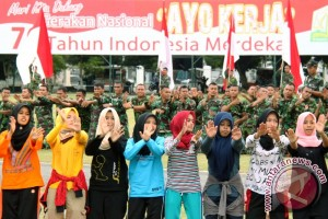 Tari Saman HUT TNI