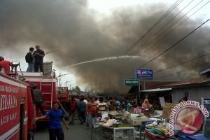 Enam unit rumah warga Blangpidie terbakar