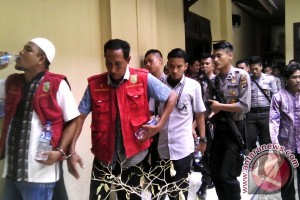 Warga Nagan Raya Demo PN Meulaboh