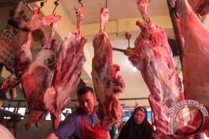 Harga daging di Aceh Barat turun