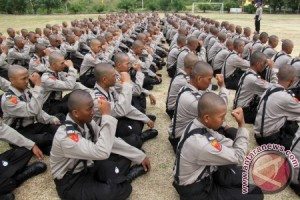 286 siswa bintara Polri mulai pendidikan