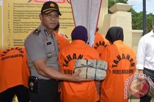 Polisi Nagan Raya ungkap 36 kasus narkoba