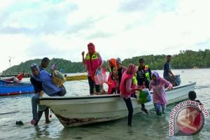Per hari seribuan peserta Penas berwisata ke Sabang