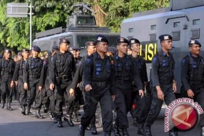 Brimob perkuat pengamanan pilkada di Aceh