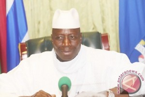 Presiden Gambia umumkan negara dalam keadaan darurat