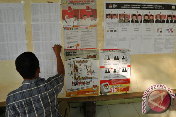 DPS pemilu di Banda Aceh 147.611 orang