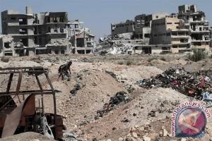 Konvoi bus di Aleppo diserang, 126 meninggal