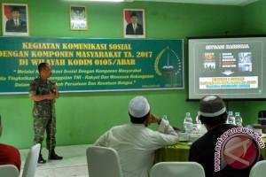 TNI Aceh bahas bahaya komunisme di Indonesia