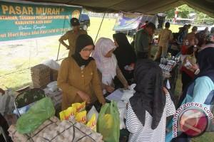 Masyarakat Aceh Barat serbu pasar murah