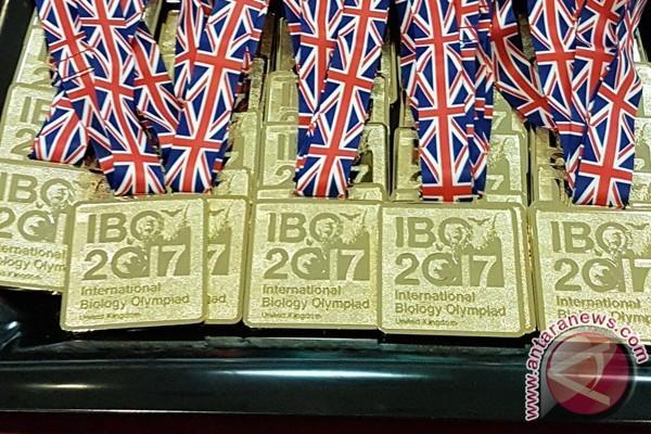 Indonesia raih emas di olimpiade biologi