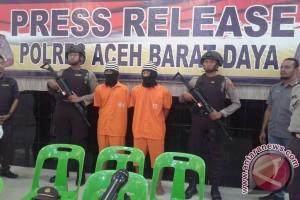 Dua pemuda Aceh terancam hukuman seumur hidup
