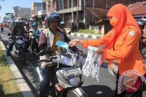 BPBD Aceh Barat Bagikan Masker
