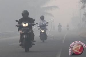 Kabut Asap Ganggu Jalan