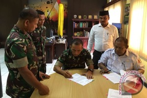 TNI-Nagan Raya kontrak kerja perluasan sawah