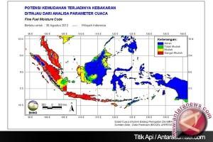 BMKG: delapan titik panas terdeteksi di Aceh