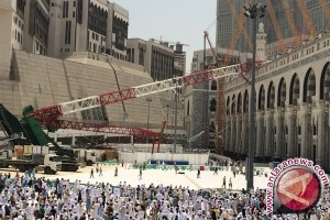 Santunan korban crane di Masjidil Haram segera cair