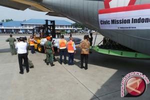 Logistik terbang pertama ke Bangladesh