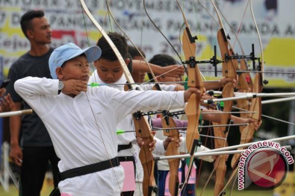 Regu putri Aceh raih perungu kejurnas panahan