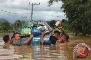 Banjir kepung pemukiman Aceh jaya hingga 1,5 meter