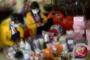 BBPOM menyita ribuan kosmetika ilegal
