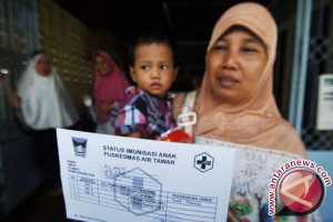 Banyak warga Aceh minta imunisasi difteri