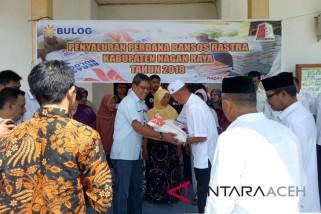Bantuan rastra mulai didistribusikan di Nagan Raya