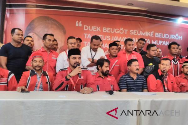 Sejumlah politisi Partai Aceh maju ke DPR RI