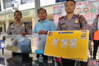 Polisi tangkap pemakai dan pengedar narkoba