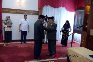 Kamaruddin Andalah penjabat sementara bupati Pidie Jaya