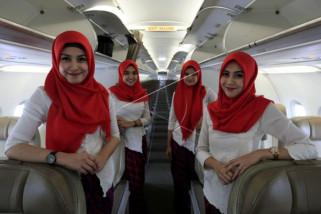 Pramugari Wajib Jilbab Untuk Rute Aceh