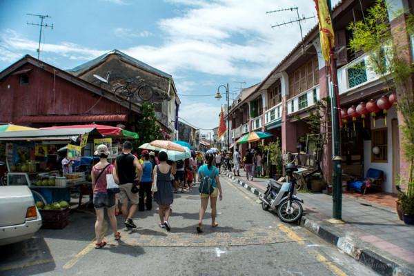 Penang destinasi favorit warga sumatera