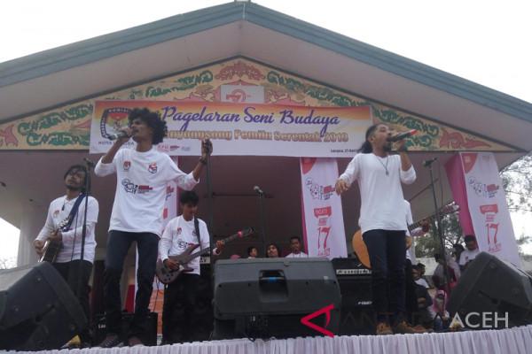 Apache meriahkan sosialisasi pemilu di Langsa