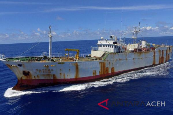 Lanal Sabang tangkap kapal buronan interpol