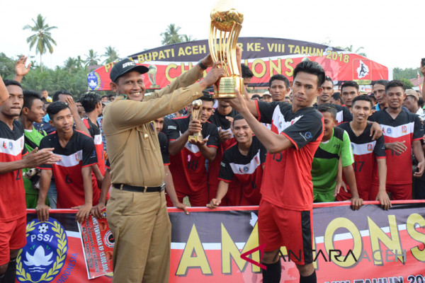 PS Darul Ihsan juara Piala Bupati Aceh Timur