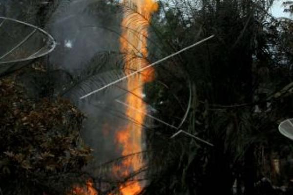 198 jiwa masih mengunggsi akibat sumur minyak