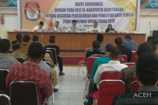 KIP Aceh Tengah gelar pencocokan data pemilih