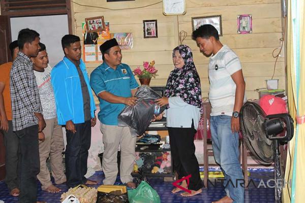 KNPI Aceh Besar bantu anak yatim jelang Lebaran
